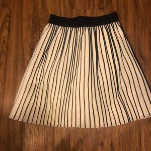 Pleated J Crew Skirt